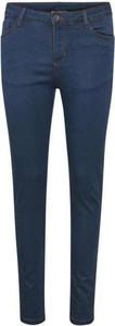 Niebieskie jeansy Kaffe z jeansu w street stylu