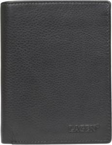 Czarny portfel męski Lagen