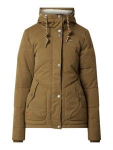 Zielona kurtka Ragwear w stylu casual z bawełny
