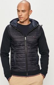 Czarna kurtka Tommy Hilfiger z bawełny w stylu casual krótka
