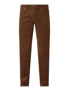 Spodnie Christian Berg Men w stylu casual ze sztruksu