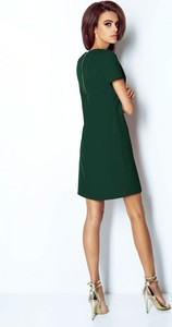 Zielona sukienka Moda Dla Ciebie mini