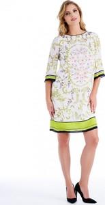 Sukienka POTIS & VERSO mini z okrągłym dekoltem
