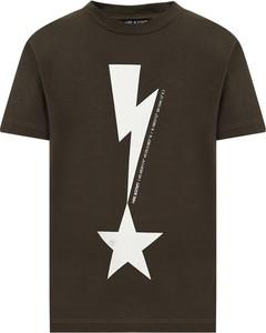 T-shirt Neil Barrett w młodzieżowym stylu z bawełny