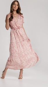Różowa sukienka Renee maxi