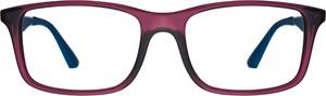 Czerwone okulary damskie Ray-Ban w sportowym stylu