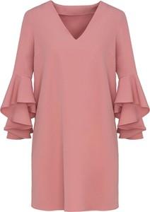 Różowa sukienka Lavard mini