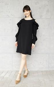 Sukienka Sklepfilloo z długim rękawem