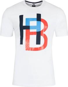 T-shirt Harmont & Blaine z bawełny w młodzieżowym stylu