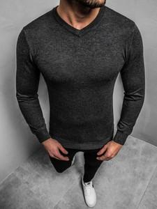 Sweter BRUNO LEONI w stylu casual z dzianiny