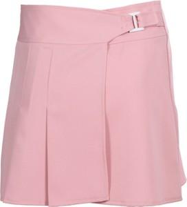 Różowa spódnica Fokus w młodzieżowym stylu