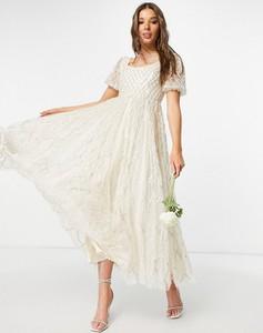Sukienka Needle & Thread z krótkim rękawem