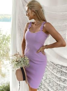 Fioletowa sukienka SELFIEROOM