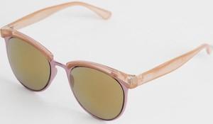 Różowe okulary damskie Diverse