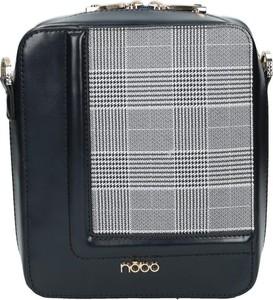 Granatowa torebka NOBO na ramię w młodzieżowym stylu średnia