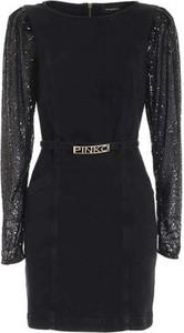 Sukienka Pinko z tkaniny