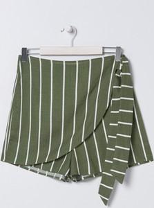 Zielone szorty Sinsay