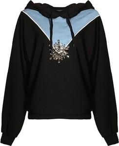 Czarna bluza Pinko w stylu casual
