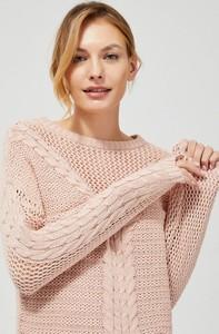 Sweter Moodo w stylu casual z bawełny