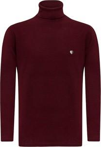 Sweter Sir Raymond Tailor w stylu casual z bawełny