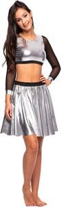 Srebrna spódniczka dziewczęca Rennwear