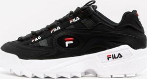 Czarne buty męskie Fila, kolekcja wiosna 2020