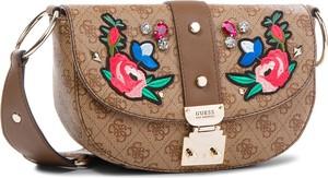 Brązowa torebka Guess w stylu casual