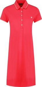 Sukienka Marc O'Polo z krótkim rękawem w stylu casual prosta