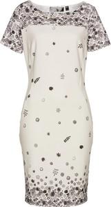 Sukienka bonprix bpc selection z krótkim rękawem w stylu casual mini