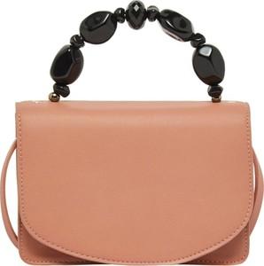 Różowa torebka Vero Moda ze skóry