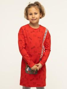 Czerwona sukienka dziewczęca Little Marc Jacobs