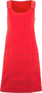 Sukienka bonprix bpc bonprix collection midi z okrągłym dekoltem w stylu casual
