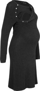 Sukienka bonprix bpc bonprix collection w stylu casual z okrągłym dekoltem