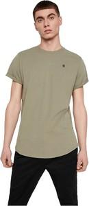 Zielony t-shirt G-star w stylu casual z krótkim rękawem