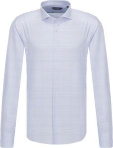 Koszula Boss z bawełny z długim rękawem