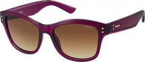 Fioletowe okulary damskie Trendy Opticians