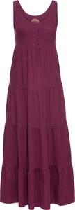 Czerwona sukienka bonprix john baner jeanswear maxi