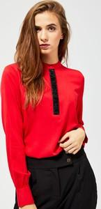 Bluzka Moodo w stylu casual z długim rękawem