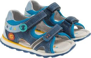 1e46ec7ac0a0 Niebieskie buty dziecięce letnie Cool Club dla chłopców