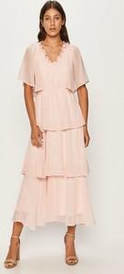 Sukienka Vero Moda z tkaniny