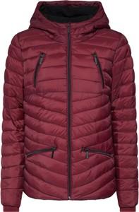 Czerwona kurtka SUBLEVEL w stylu casual krótka