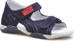 Buty dziecięce letnie RenBut z zamszu