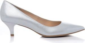 c67b9fcf07642 srebrne buty ślubne. - stylowo i modnie z Allani