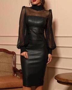 Sukienka Kendallme dopasowana z okrągłym dekoltem midi