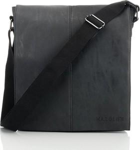 Czarna torba Harolds