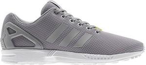 Buty sportowe Adidas Originals sznurowane w sportowym stylu zx flux