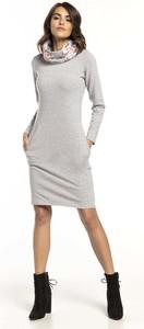 Sukienka Tessita z długim rękawem midi w stylu casual