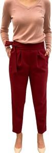 Czerwone spodnie ECHO