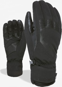 Czarne rękawiczki Level