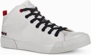 Ombre Trampki męskie sneakersy T356 - białe